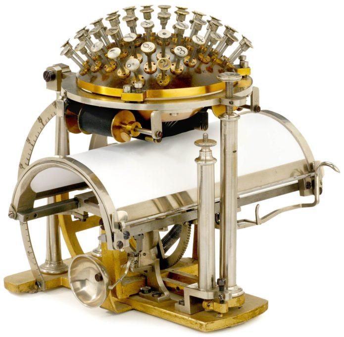 Печатная машинка Хансена
