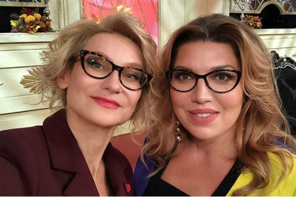 Екатерина Скулкина и Эвелина Хромченко