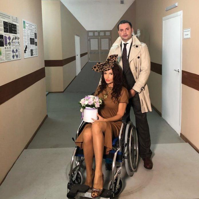 Беременная Бледанс попала в больницу