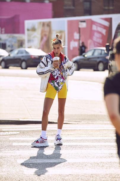 Хейли Болдуин для Harper's Bazaar