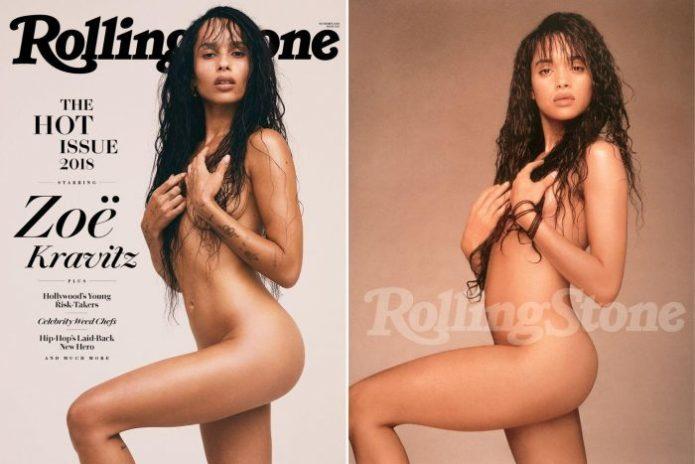 Зои Кравиц и Лиза Боне для Rolling Stone