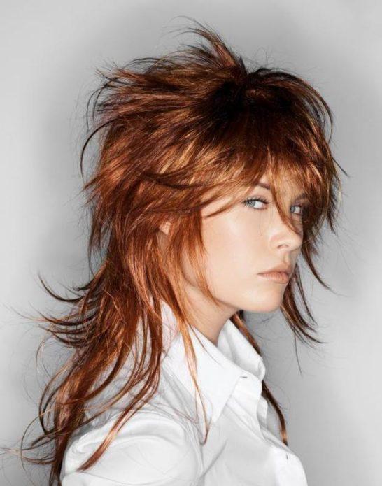 Небрежная укладка длинных волос