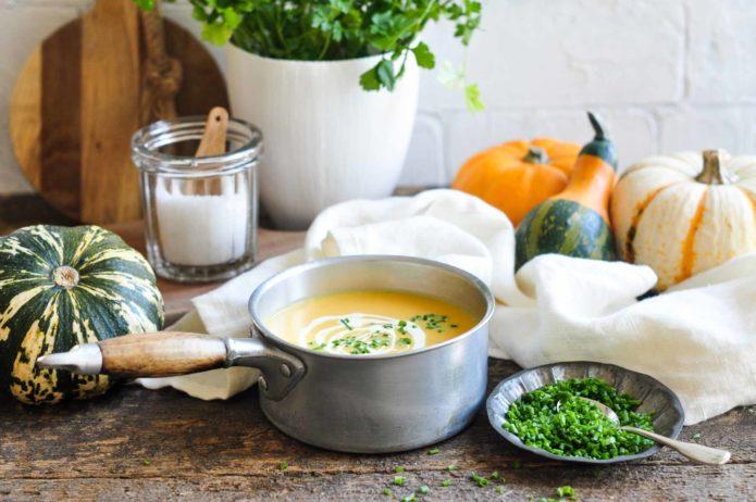 приготовление супа-пюре