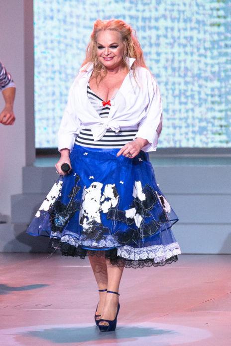 Лариса Долина платье морячки