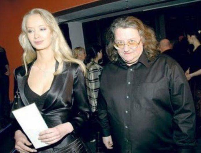 Александр Градский с супругой