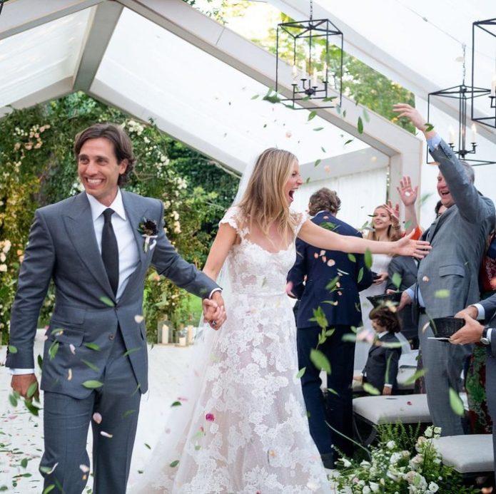 Свадьба Гвинет Пэлтроу и Брэда Фэлчака
