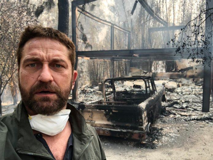 У Джерарда Батлера сгорел дом