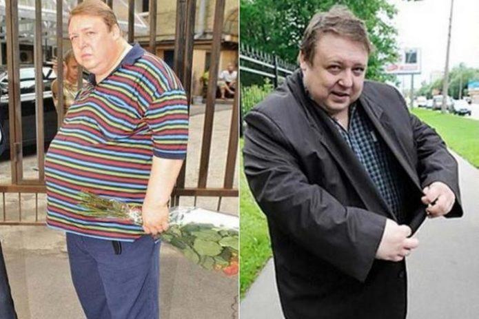 Александр Семчев экстремально похудел