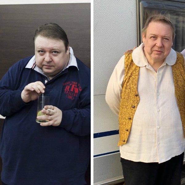 Александр Семчев похудел на 40 кг