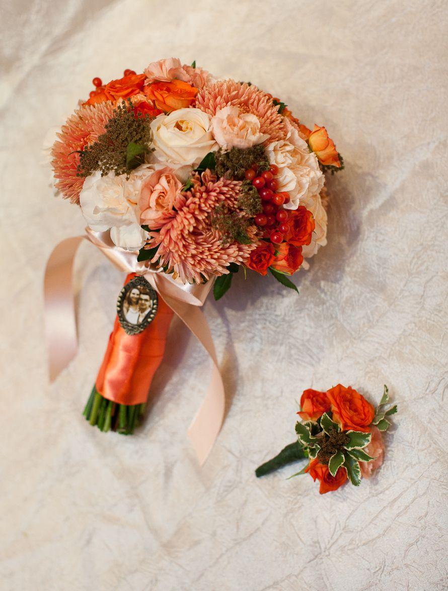 свадебные букеты для невесты осенние фото даже смело