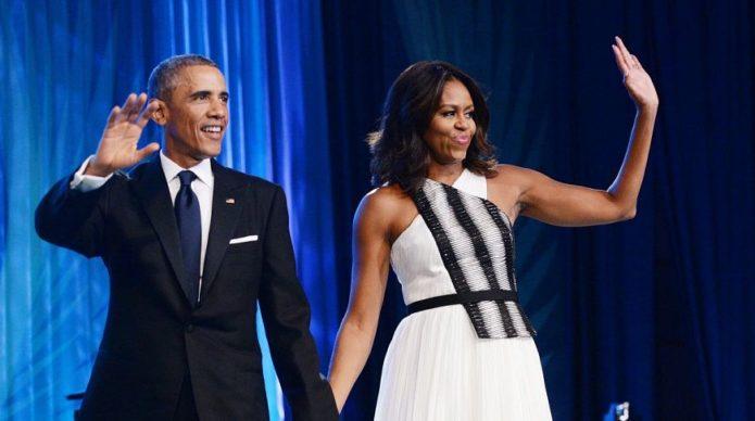 Наряд Мишель Обамы