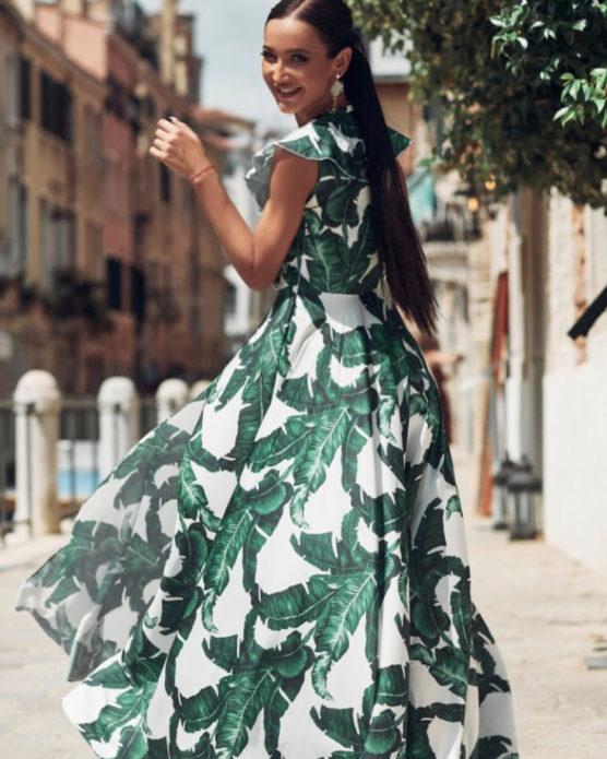 Ольга Бузова в летнем платье