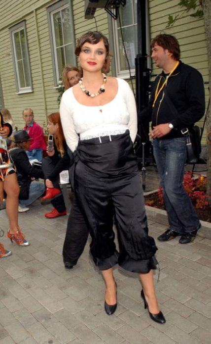 Полина Гагарина до похудения