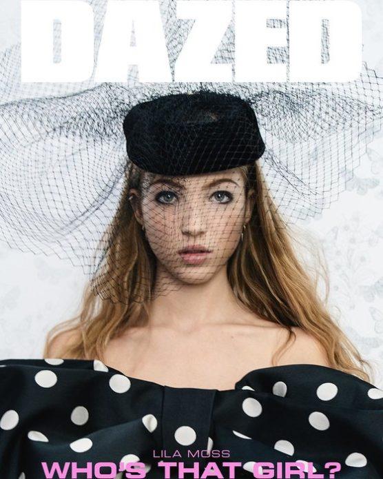 Лила Грейс Мосс на обложке глянца