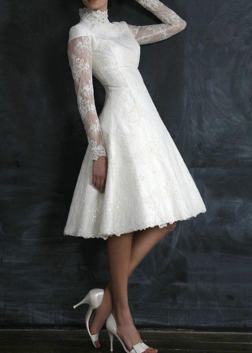 Роскошное платье в романтическом стиле