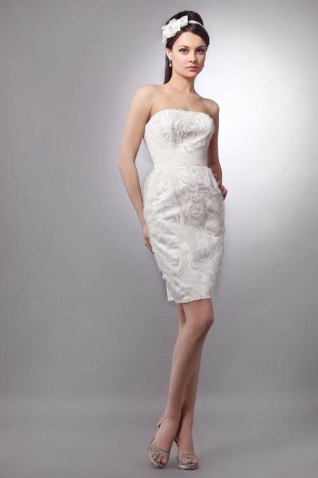Цветущее платье