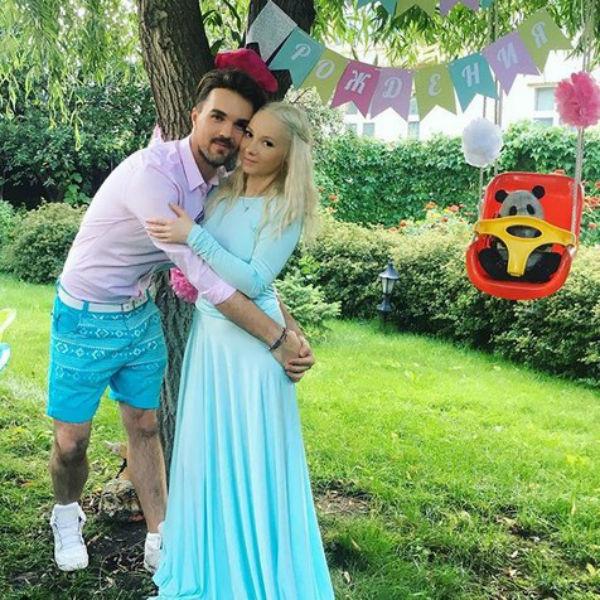 Александр Панайотов и его жена Екатерина