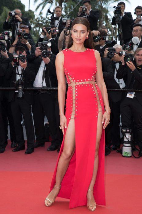 Ирина Шейк на Каннском кинофестивале в 2018 году