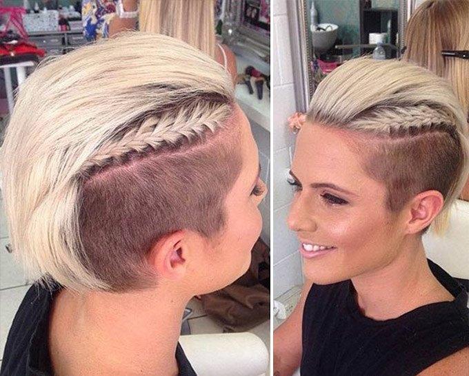 Андеркат с косами