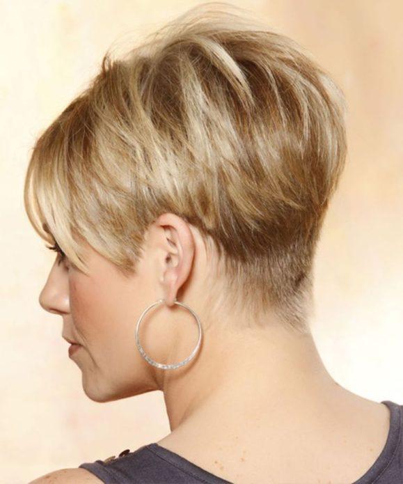 Естественный образ причёски