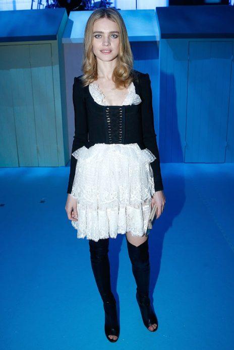 Наталья в чёрно-белом комплекте