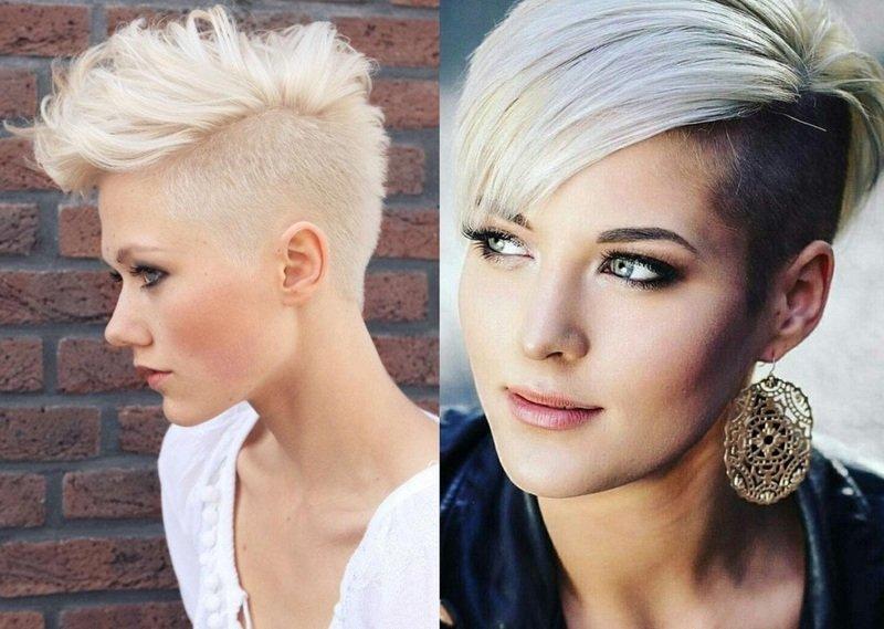 Женская стрижка андеркат на короткие, средние и длинные волосы