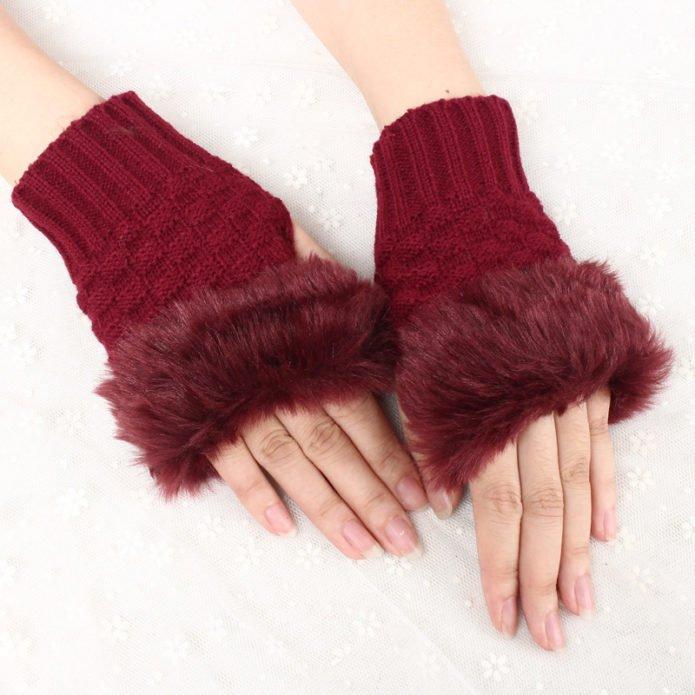 Женские перчатки сезон осень-зима 2018–2019