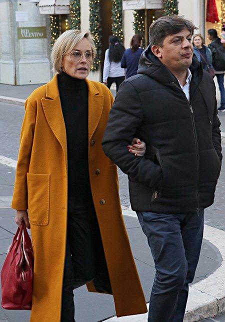 Шэрон Стоун и Энцо Курсио
