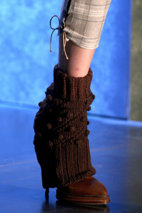 Как носить гетры