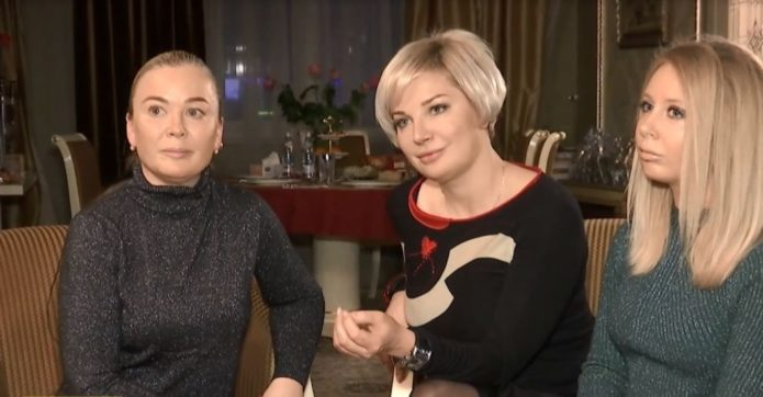 Светлана Макеенко, Мария Максакова и дочь Светланы — Катя