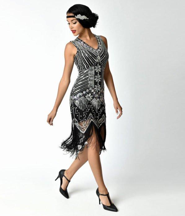 Платье в стиле Гэтсби