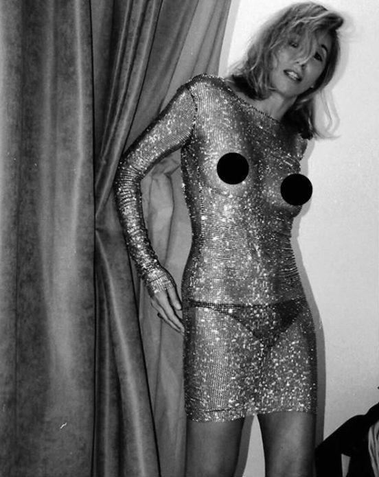 Светлана Богдарчук в «голом» платье