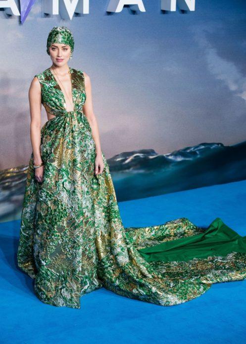 Эмбер Хёрд в платье от Valentino