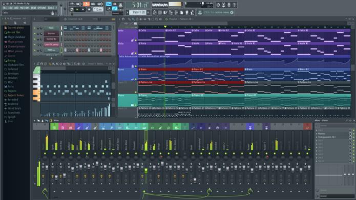 Компьютерная музыкальная студия Fruity Loops