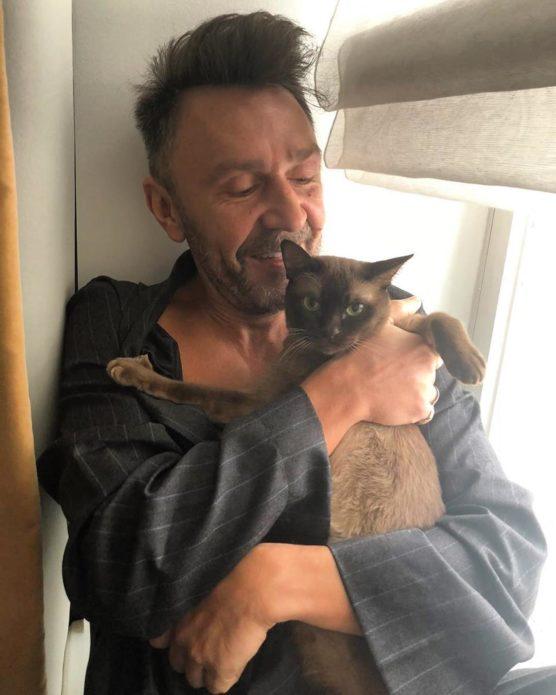 Кошка Сергея Шнурова