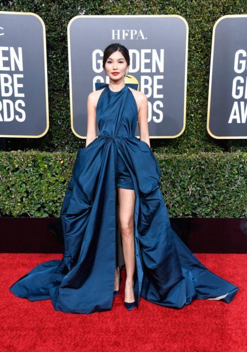 Джемма чан в платье Valentino 2019