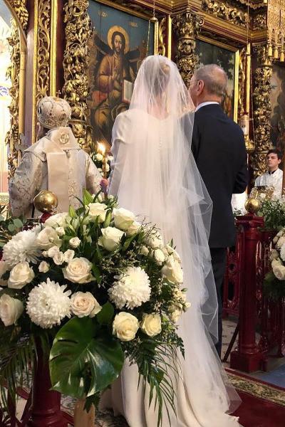 Юлия Высокая и Андрей Кончаловский обвенчались после 20 лет брака
