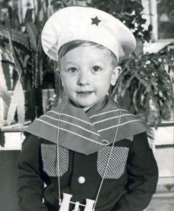 Евгений Плющенко в детстве