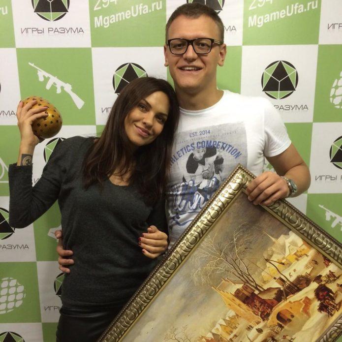 Надежда Ручка и Денис Боярко