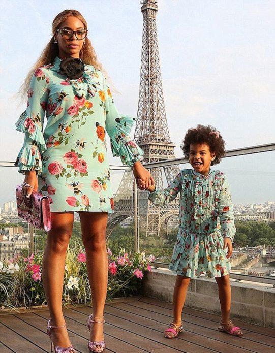 Бейонсе и её дочь