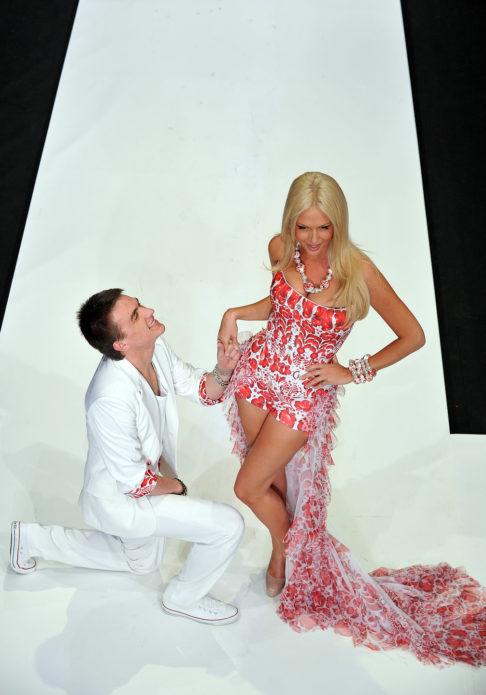 Влад Топалов и Виктория Лопырёва