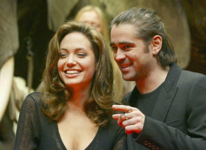 Колин Фаррелл и Анджелина Джоли