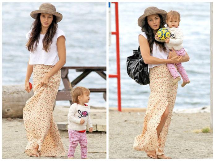 Дженна Дуан с дочерью
