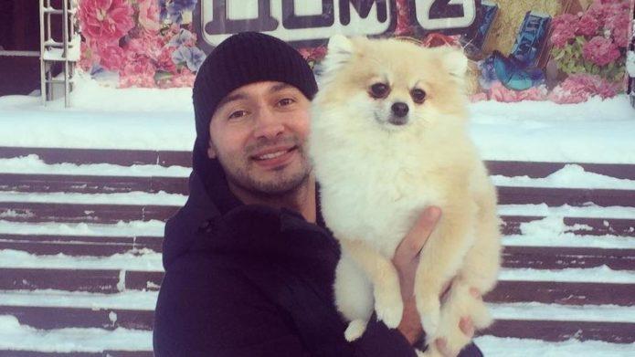 Андрей и Моника зимой