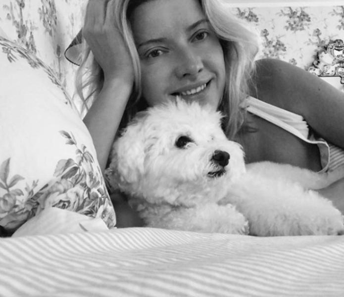 Виола Сюткина и собака