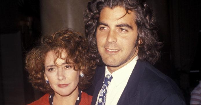 Талия Болсам и Джордж Клуни