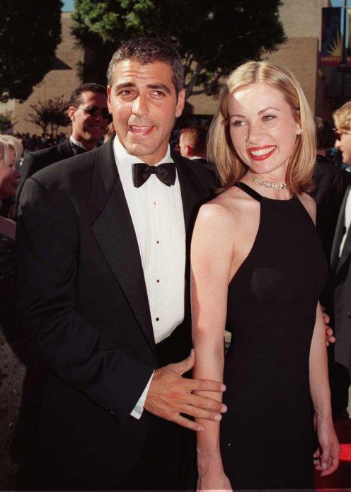 Селин Балитран и Джордж Клуни
