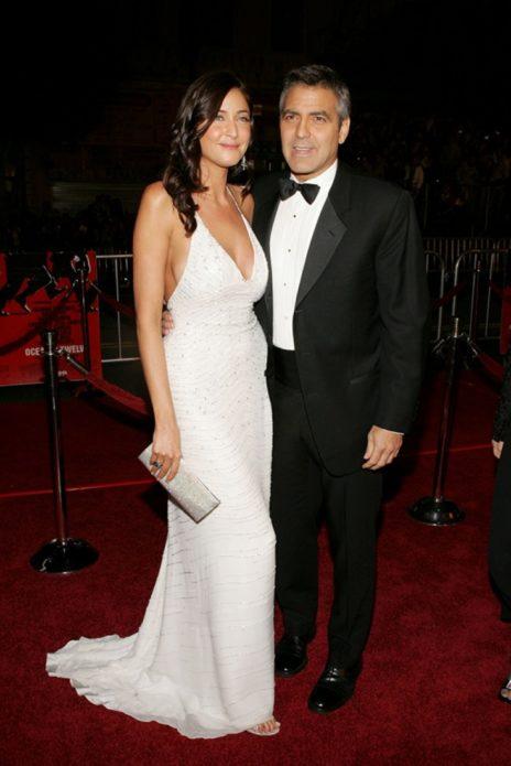 Лиза Сноудон и Джордж Клуни