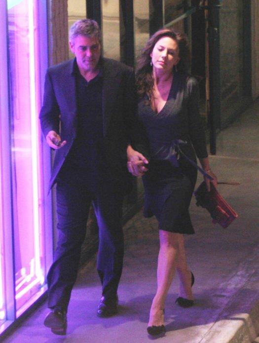 Криста Аллен и Джордж Клуни