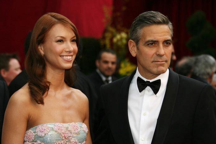 Сара Ларсон и Джордж Клуни